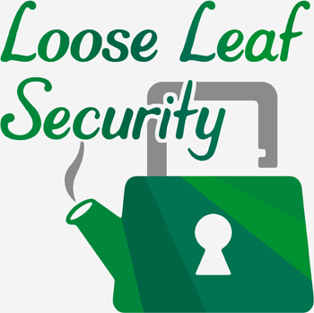 Loose Leaf Security teapot logo