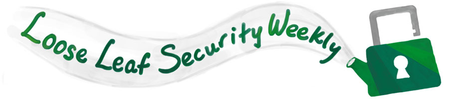 Loose Leaf Security Weekly teapot banner